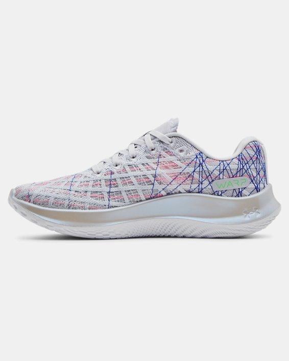 Women's UA Flow Velociti Wind Prizm Running Shoes, Gray, pdpMainDesktop image number 1