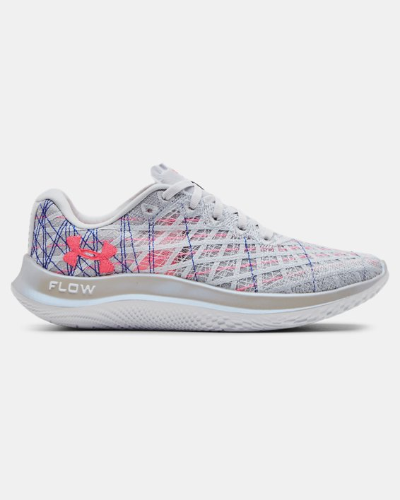 Women's UA Flow Velociti Wind Prizm Running Shoes, Gray, pdpMainDesktop image number 0