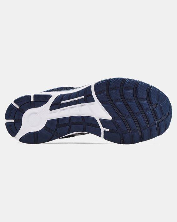 Men's UA Charged Escape 3 Big Logo Running Shoes, Navy, pdpMainDesktop image number 4