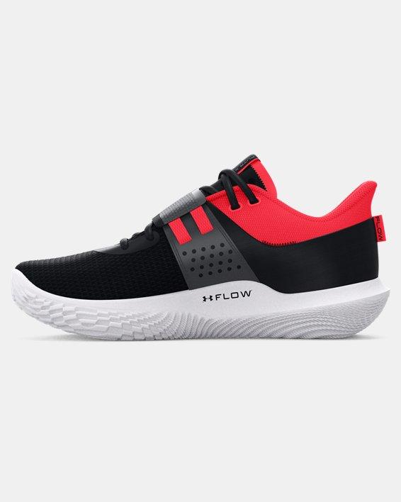 Unisex UA Flow FUTR X Basketball Shoes, Black, pdpMainDesktop image number 1
