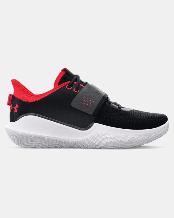 Unisex UA Flow FUTR X Basketball Shoes, Black, pdpMainDesktop image number 0