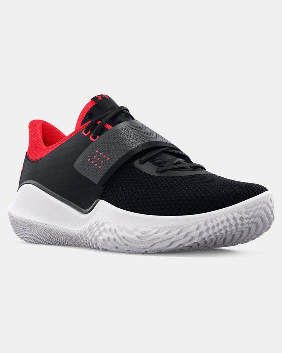 Unisex UA Flow FUTR X Basketball Shoes, Black, pdpMainDesktop image number 6