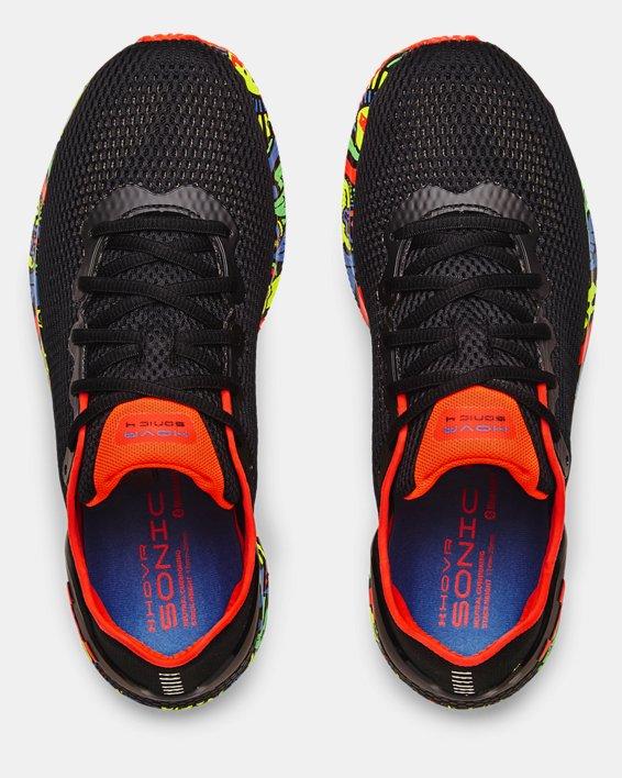 Men's UA HOVR™ Sonic 4 Run Weird Running Shoes, Black, pdpMainDesktop image number 2