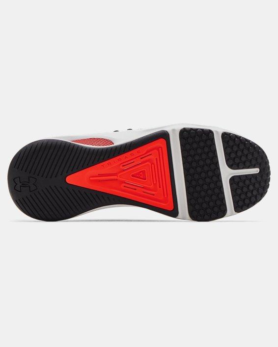 Men's UA HOVR™ Rise 3 Printed Training Shoes, Gray, pdpMainDesktop image number 4
