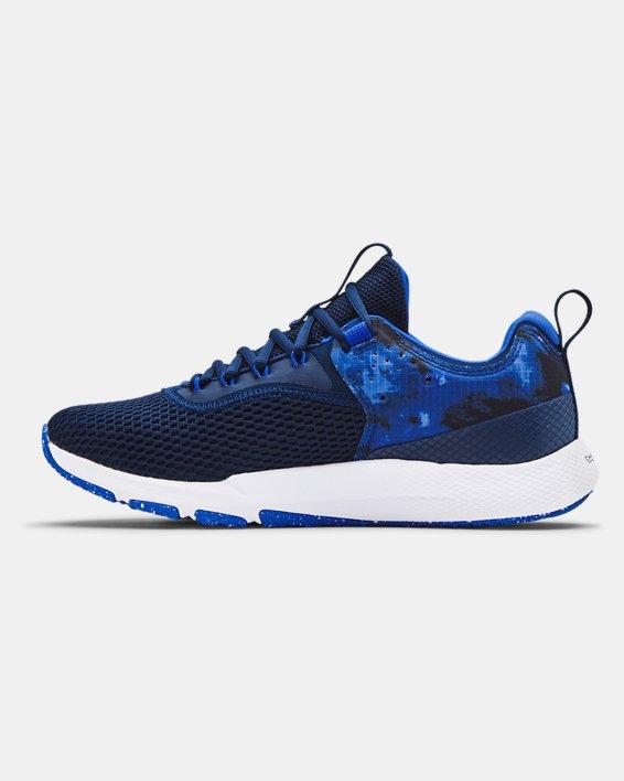 Men's UA Charged Focus Print Training Shoes, Blue, pdpMainDesktop image number 1
