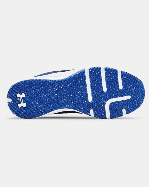Men's UA Charged Focus Print Training Shoes, Blue, pdpMainDesktop image number 4