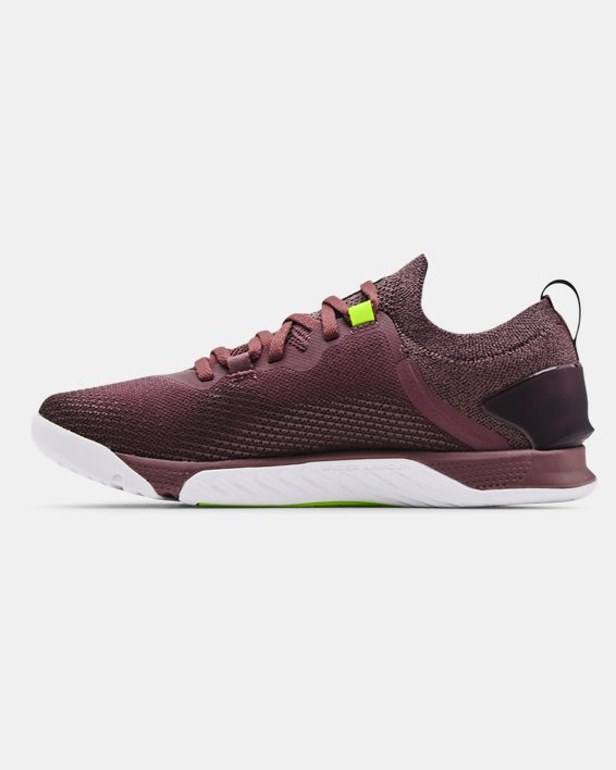 Women's UA TriBase™ Reign 3 Training Shoes, Purple, pdpMainDesktop image number 1