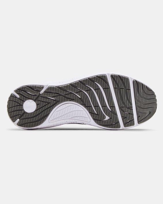 Men's UA Charged Pursuit 2 Big Logo Speckle Running Shoes, Gray, pdpMainDesktop image number 4