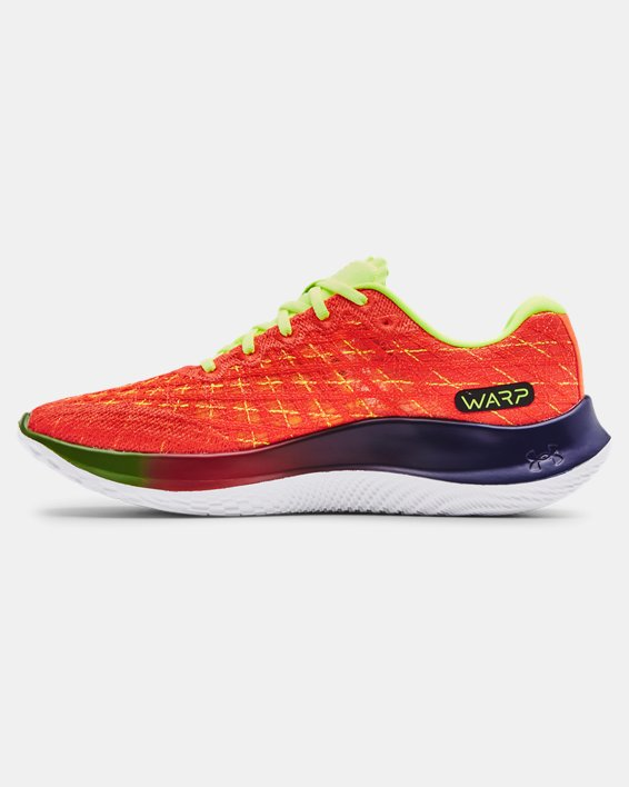 Men's UA Flow Velociti Wind NRG Running Shoes, Orange, pdpMainDesktop image number 1