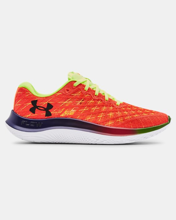 Men's UA Flow Velociti Wind NRG Running Shoes, Orange, pdpMainDesktop image number 0