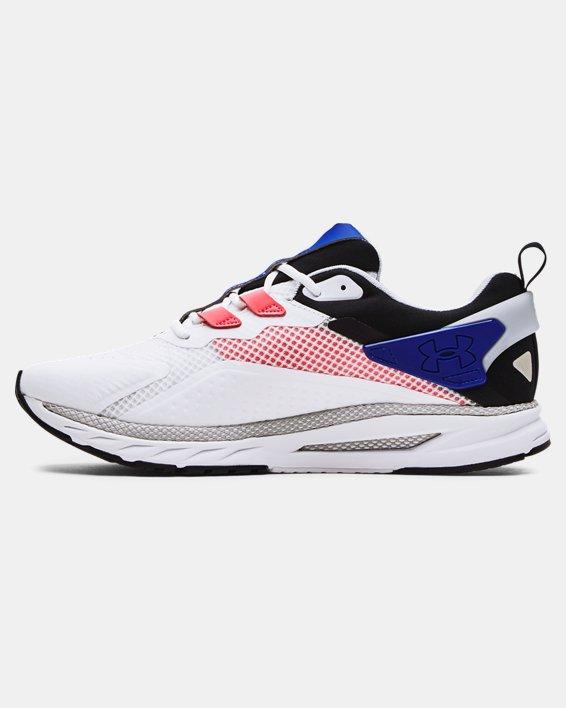 Men's UA HOVR™ MVMNT Sportstyle Shoes, White, pdpMainDesktop image number 1