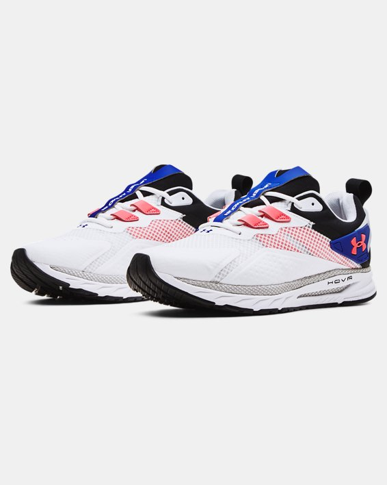 Men's UA HOVR™ MVMNT Sportstyle Shoes, White, pdpMainDesktop image number 3