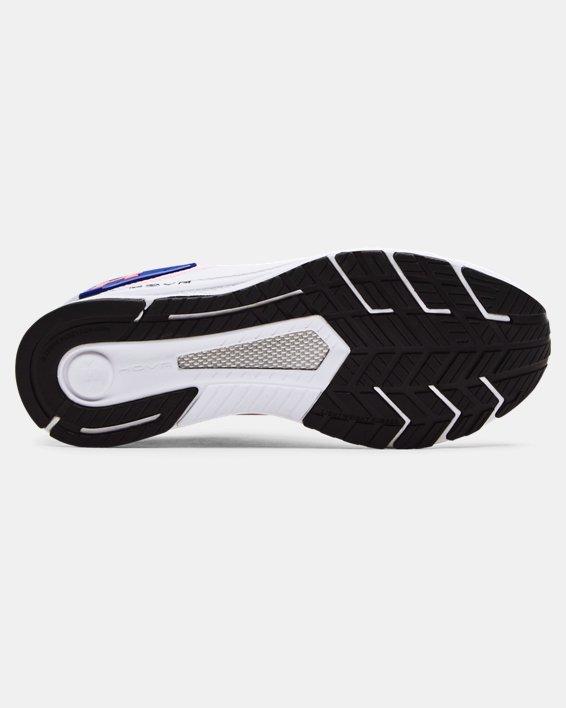 Men's UA HOVR™ MVMNT Sportstyle Shoes, White, pdpMainDesktop image number 4