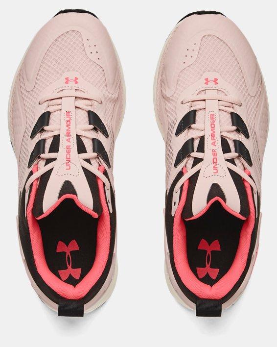 Women's UA HOVR™ Flux MVMNT Sportstyle Shoes, Pink, pdpMainDesktop image number 2