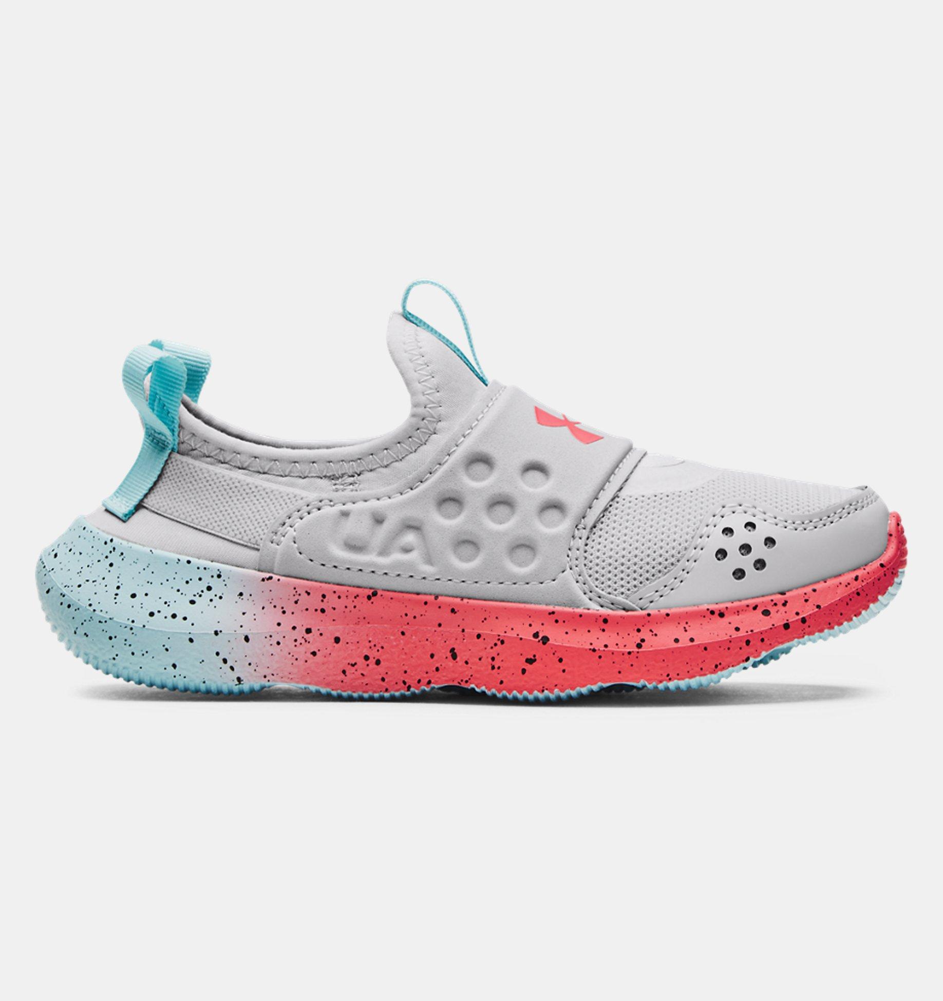 Underarmour Girls Pre-School UA Runplay Fade Running Shoes