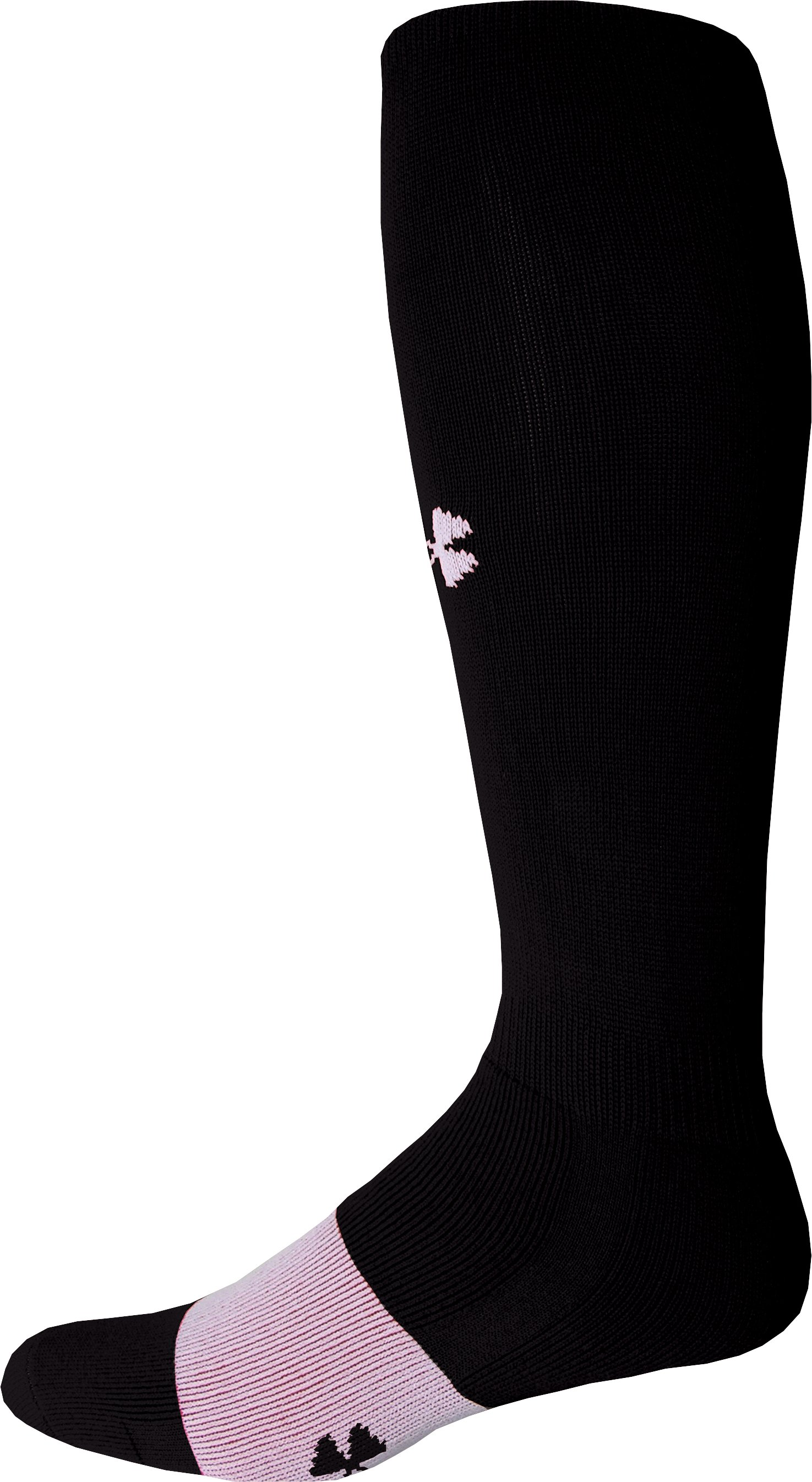 Men's Football Sock, Black , zoomed image