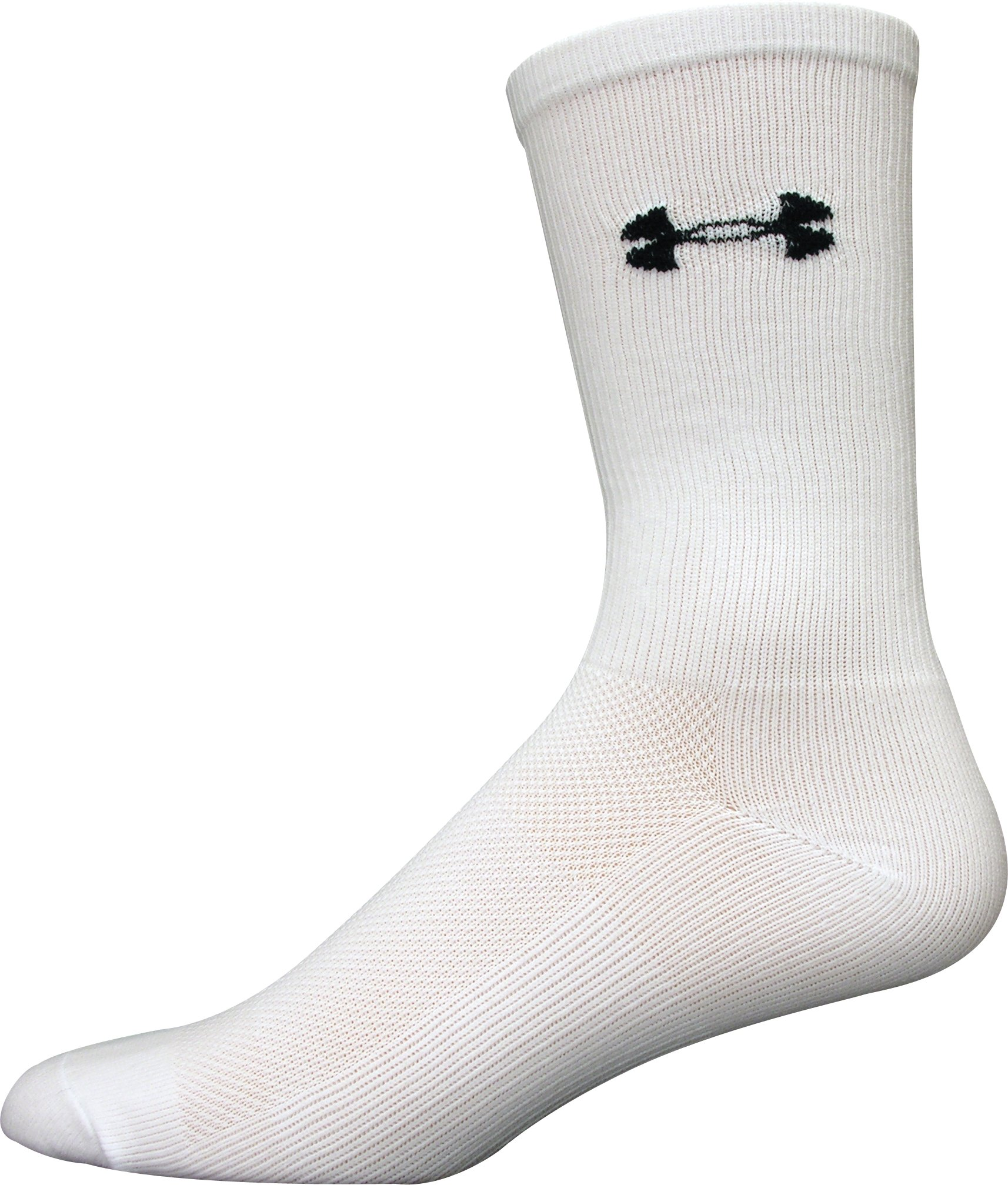 Men's Hockey Crew 2-Pack, White