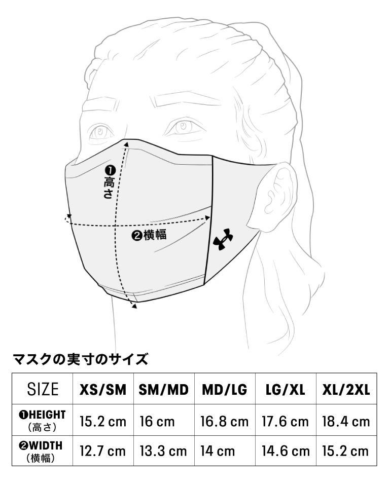 UAスポーツマスク サイズガイド