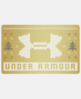 UA Gift Card  7 Colors $25 to $500