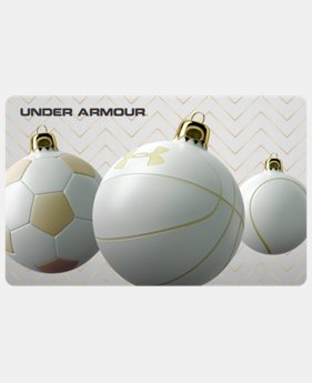 UA Gift Card  8 Colors $25 to $500