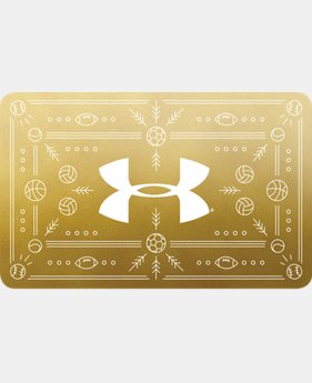 UA Gift Card  8  Colors Available $25 to $500