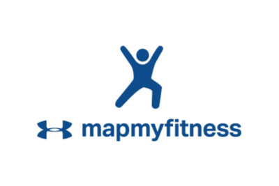 Blue Under Armour mapmyfitness app logo