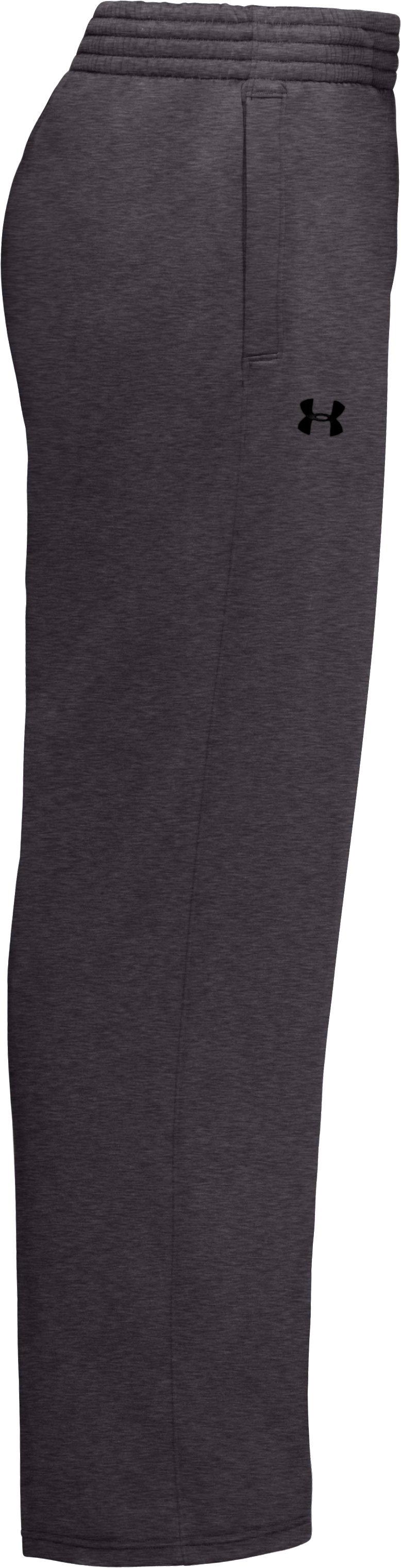 Men's Armour® Fleece Performance Pants, Carbon Heather, undefined