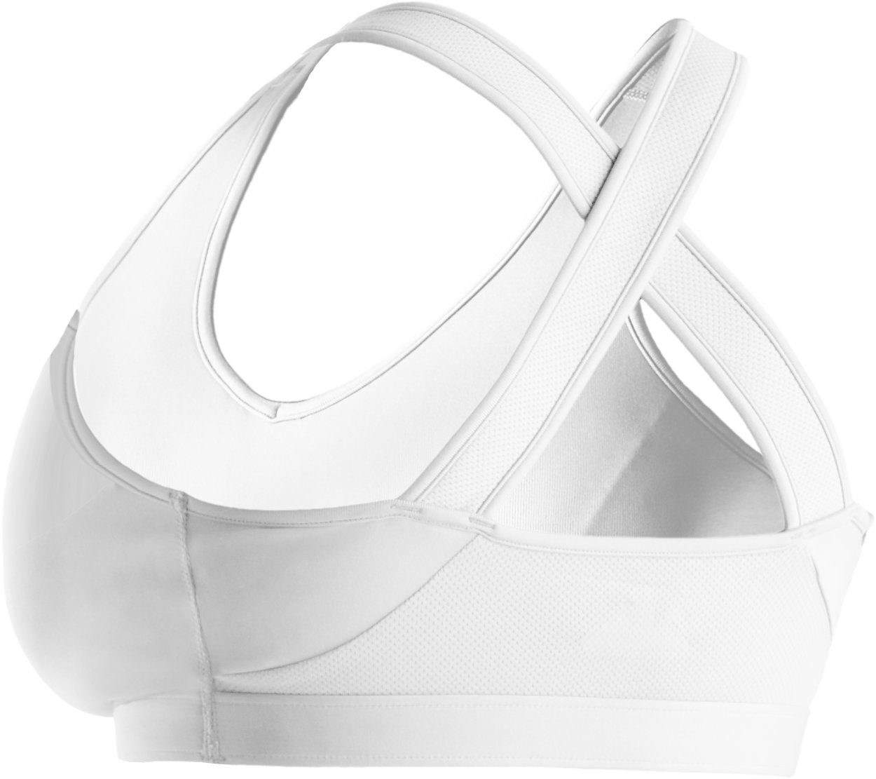 Women's Endure Sports Bra (A/B Cup), White