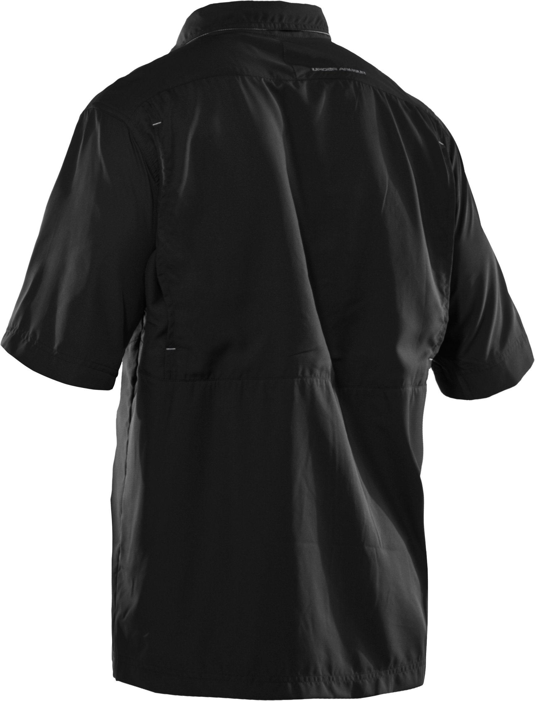 Men's Flats Guide Short Sleeve Shirt, Black