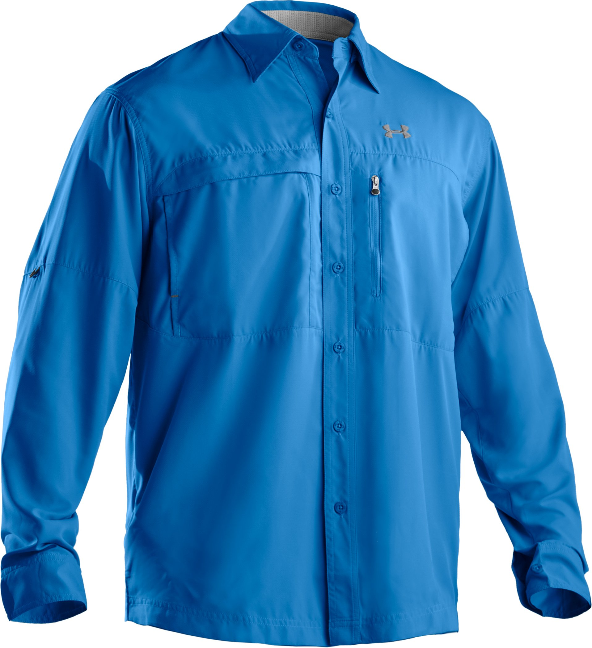 Men's Flats Guide Long Sleeve Shirt, St. Tropez