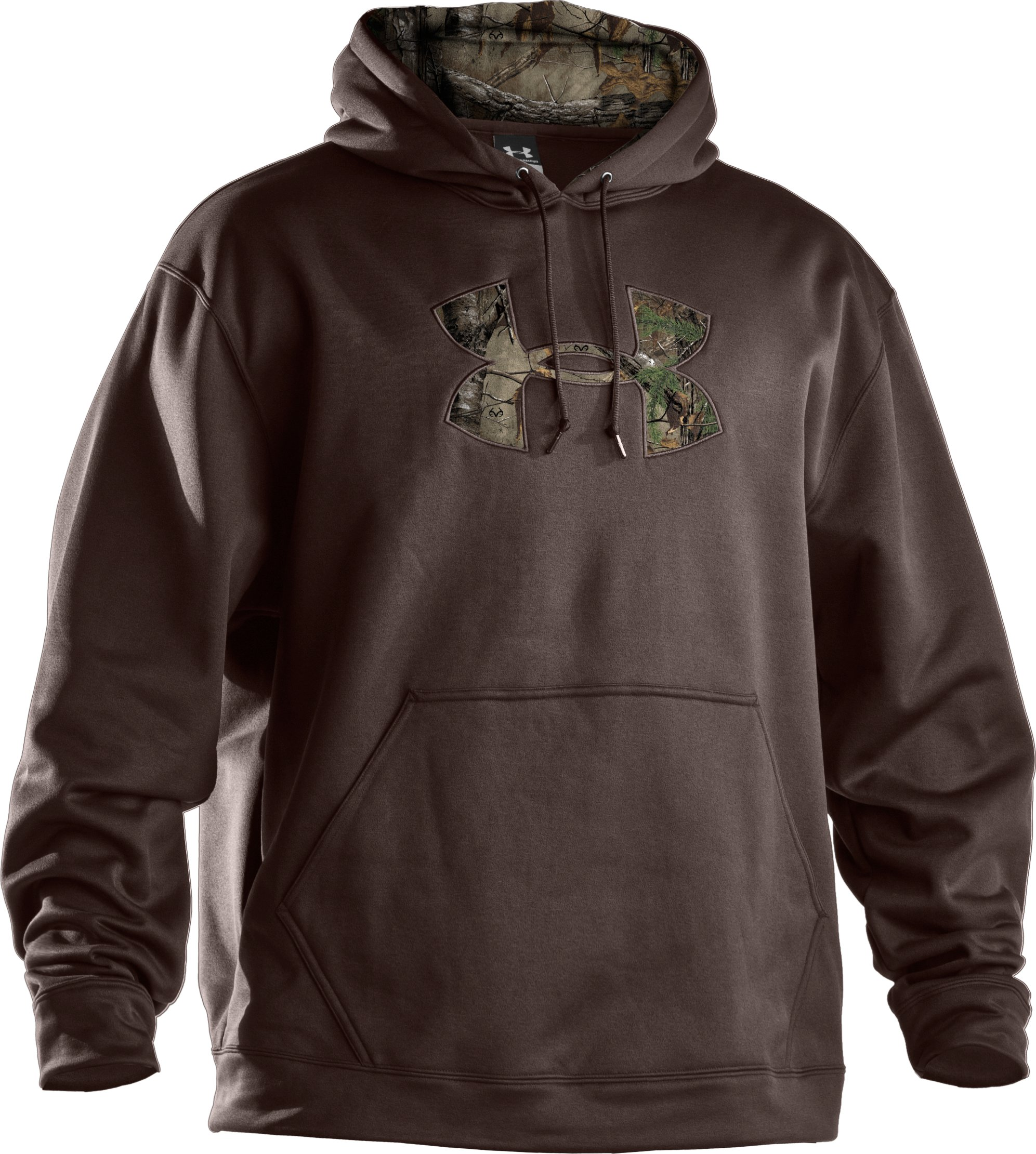 Men's UA Storm Armour® Fleece Tackle Twill Hoodie, Timber