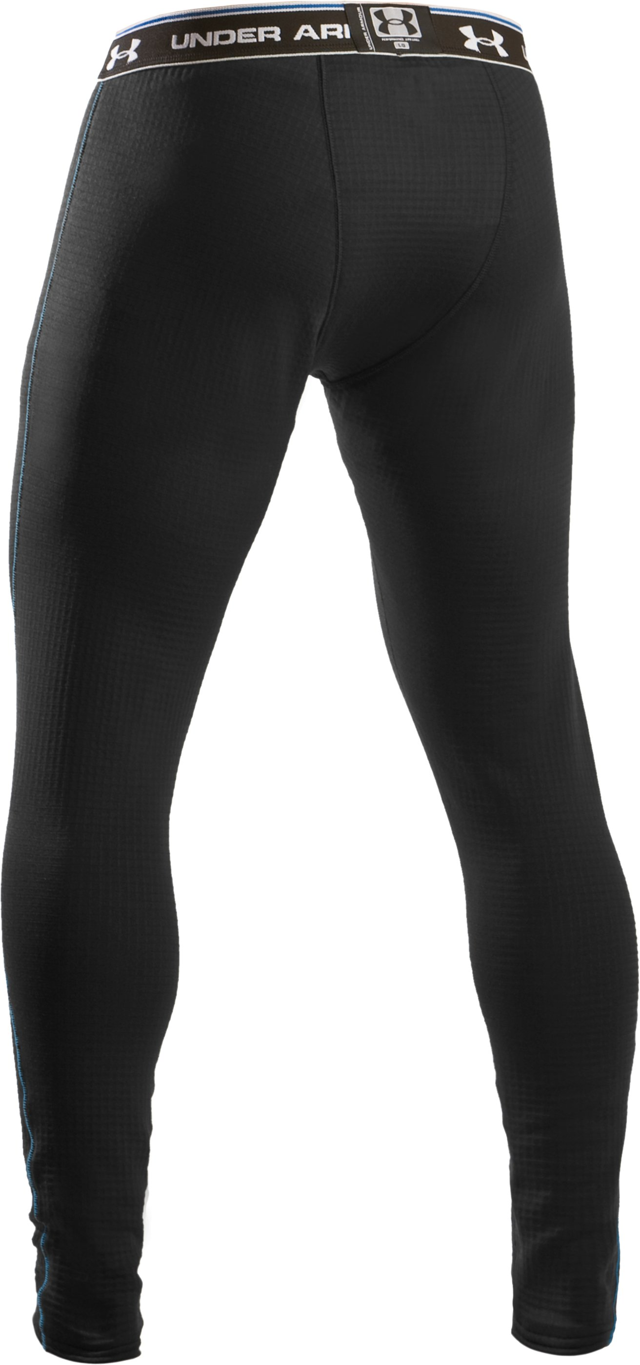 Men's ColdGear® UA Base™ 3.0 Leggings, Black ,