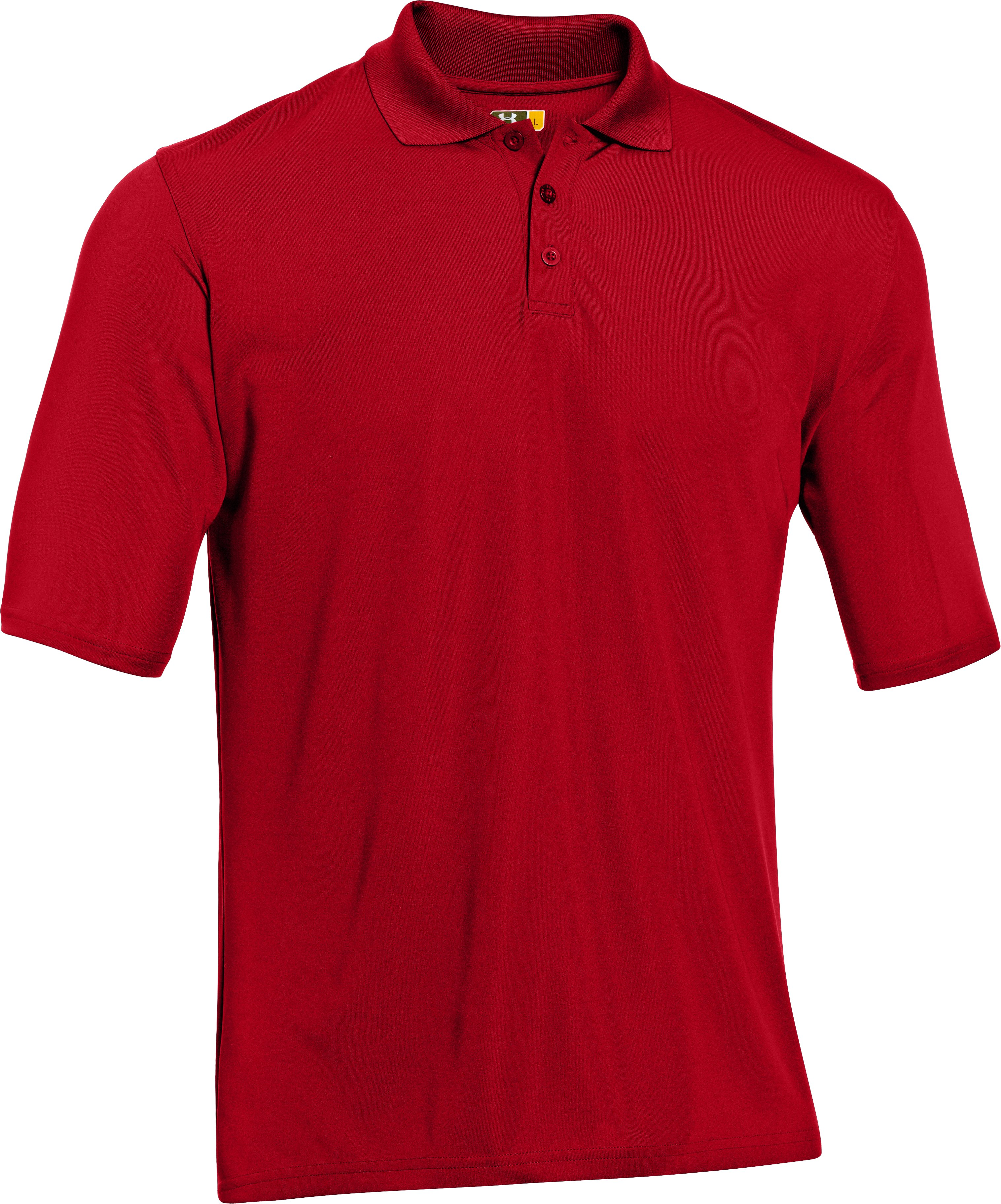 Men's UA Tactical Range Polo, Red