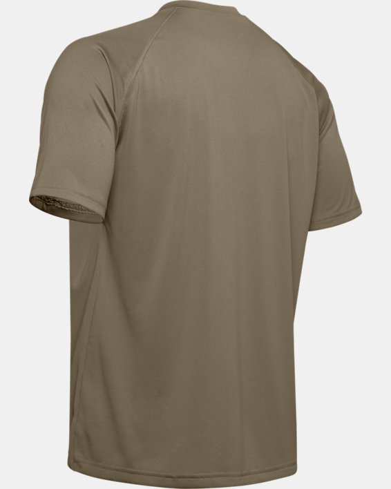 T-Shirt à manches courtes UA Tactical Tech™ pour homme, Brown, pdpMainDesktop image number 8