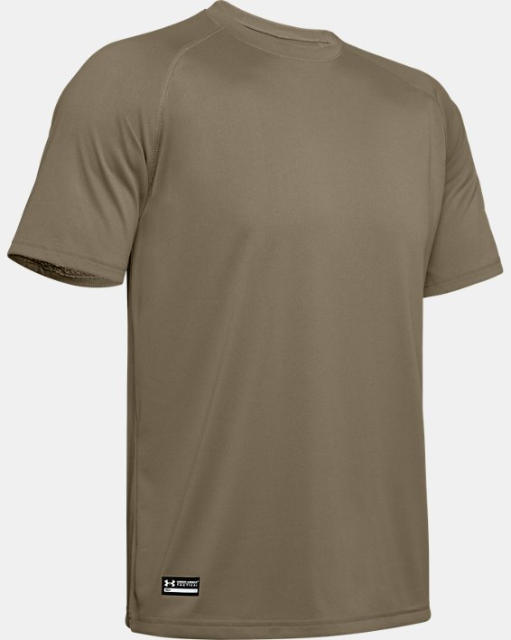 T-Shirt à manches courtes UA Tactical Tech™ pour homme, Brown, pdpMainDesktop image number 7