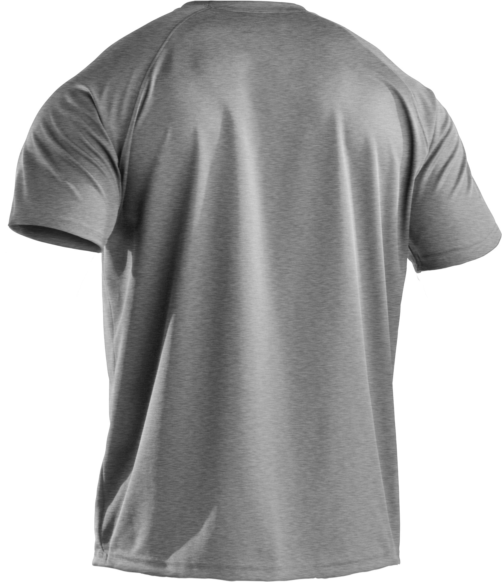 Men's HeatGear® Team Loose Short Sleeve T-Shirt, Medium Gray Heather, undefined