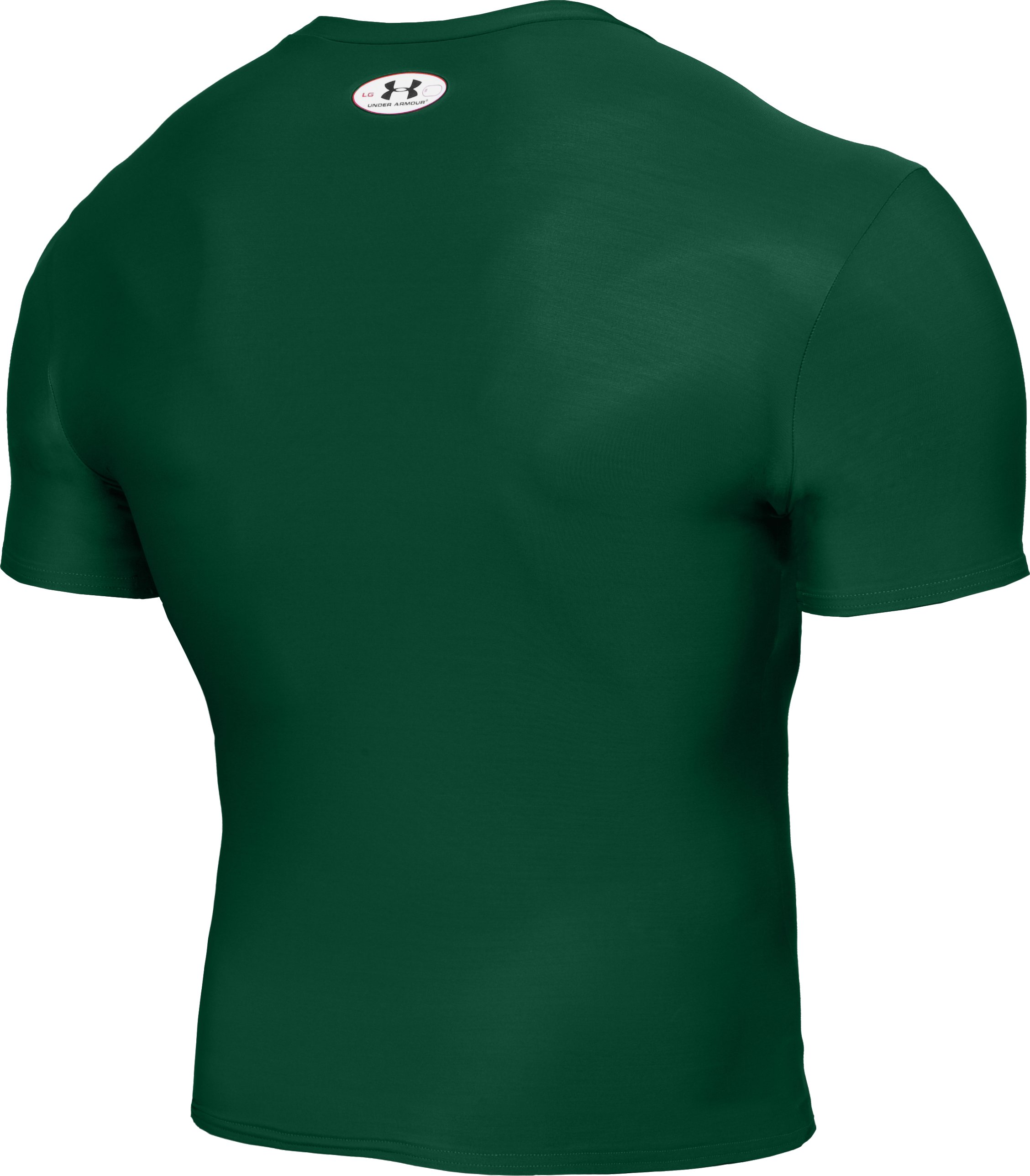 Men's HeatGear® Compression Short Sleeve T-Shirt, Forest Green