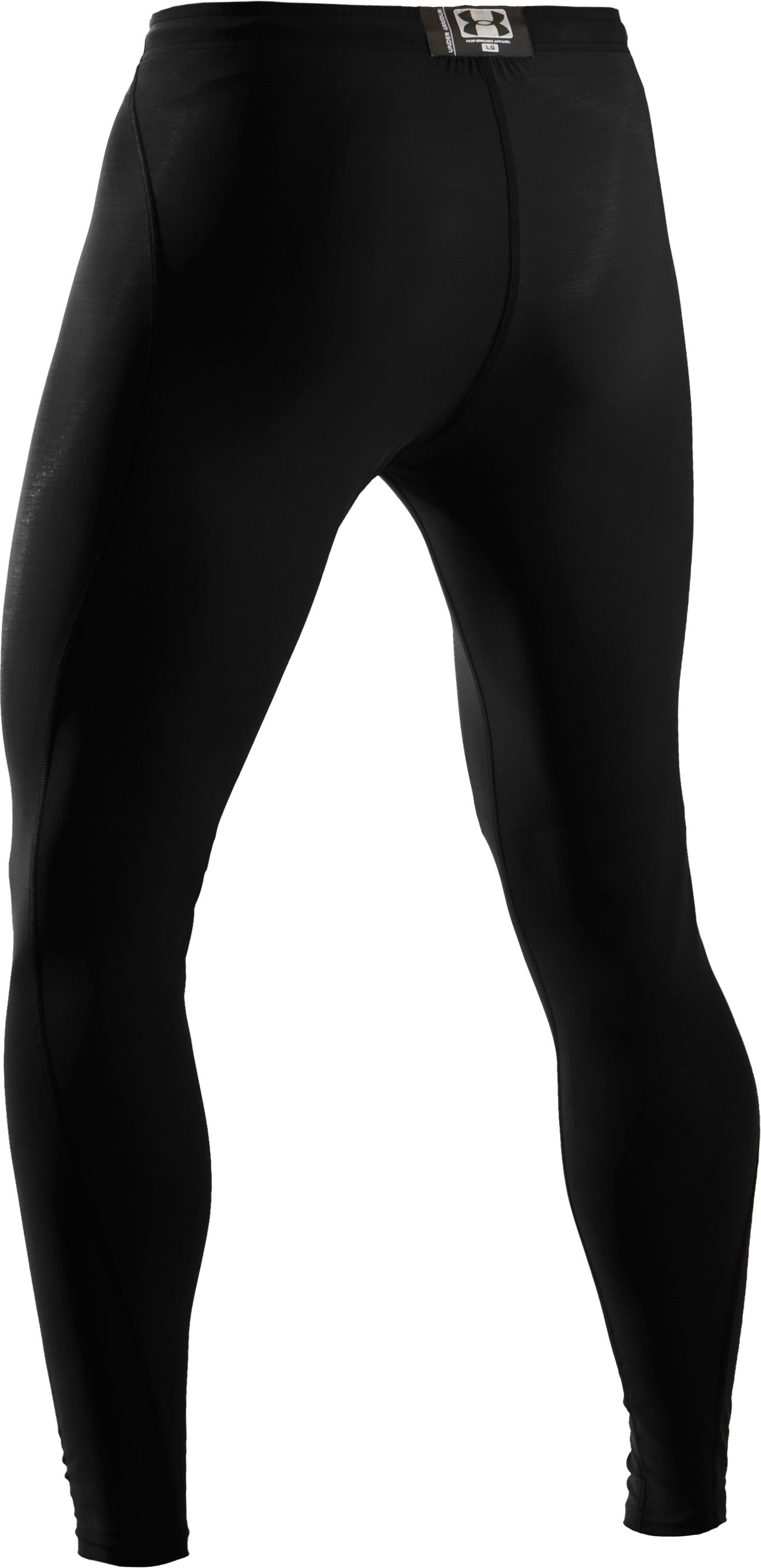 Men's UA HeatGear® Leggings, Black , undefined