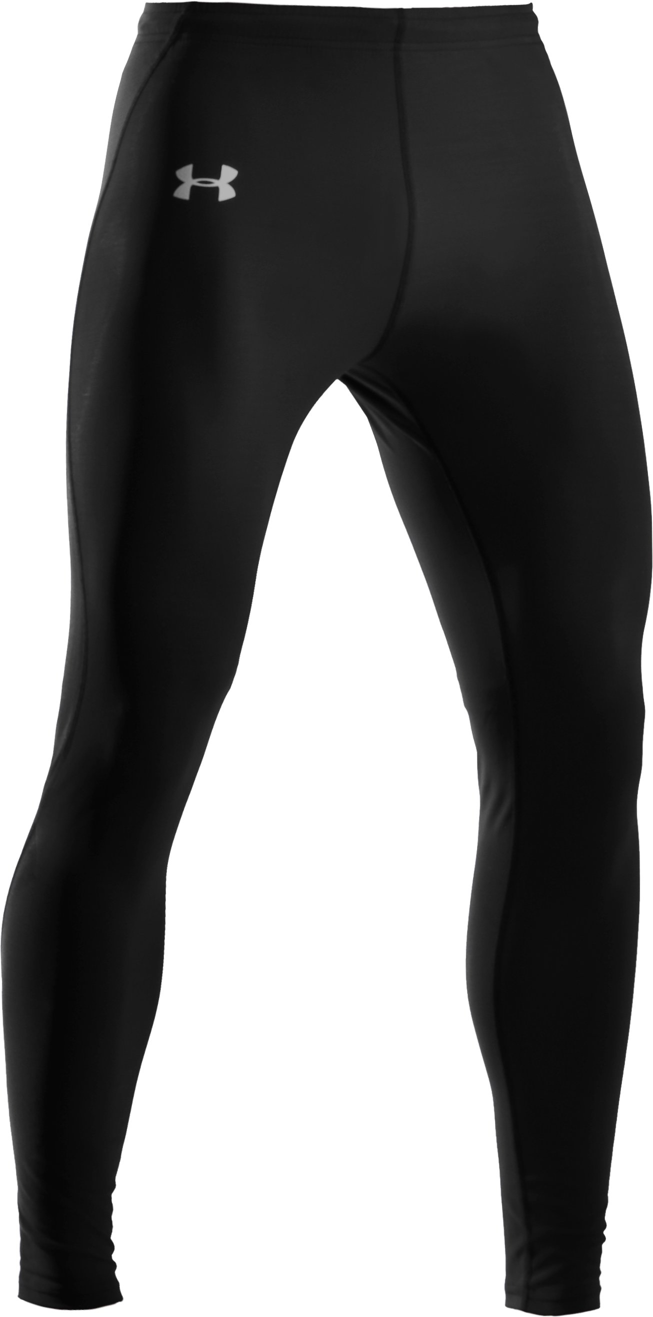 Men's UA HeatGear® Leggings, Black