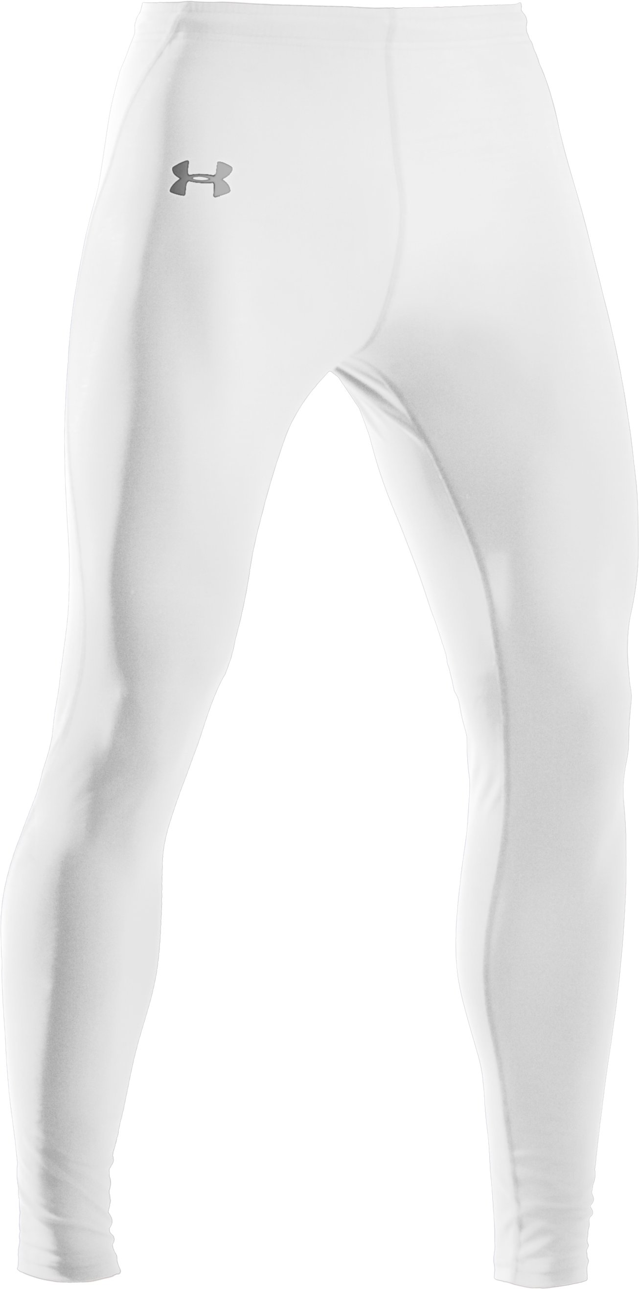 Men's UA HeatGear® Leggings, White