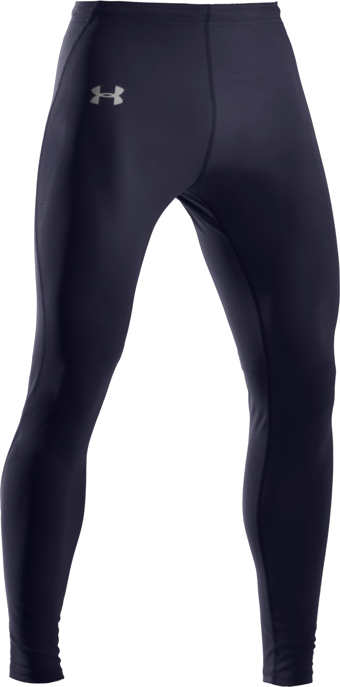 Men's UA HeatGear® Leggings, Midnight Navy