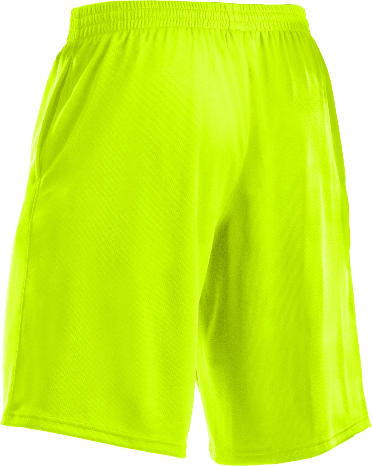 "Men's UA Flex 10"" Shorts, High-Vis Yellow"