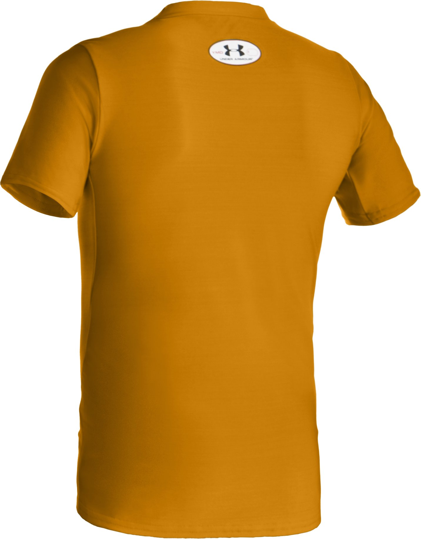Boys' Short Sleeve HeatGear® T-Shirt II, Steeltown Gold, undefined
