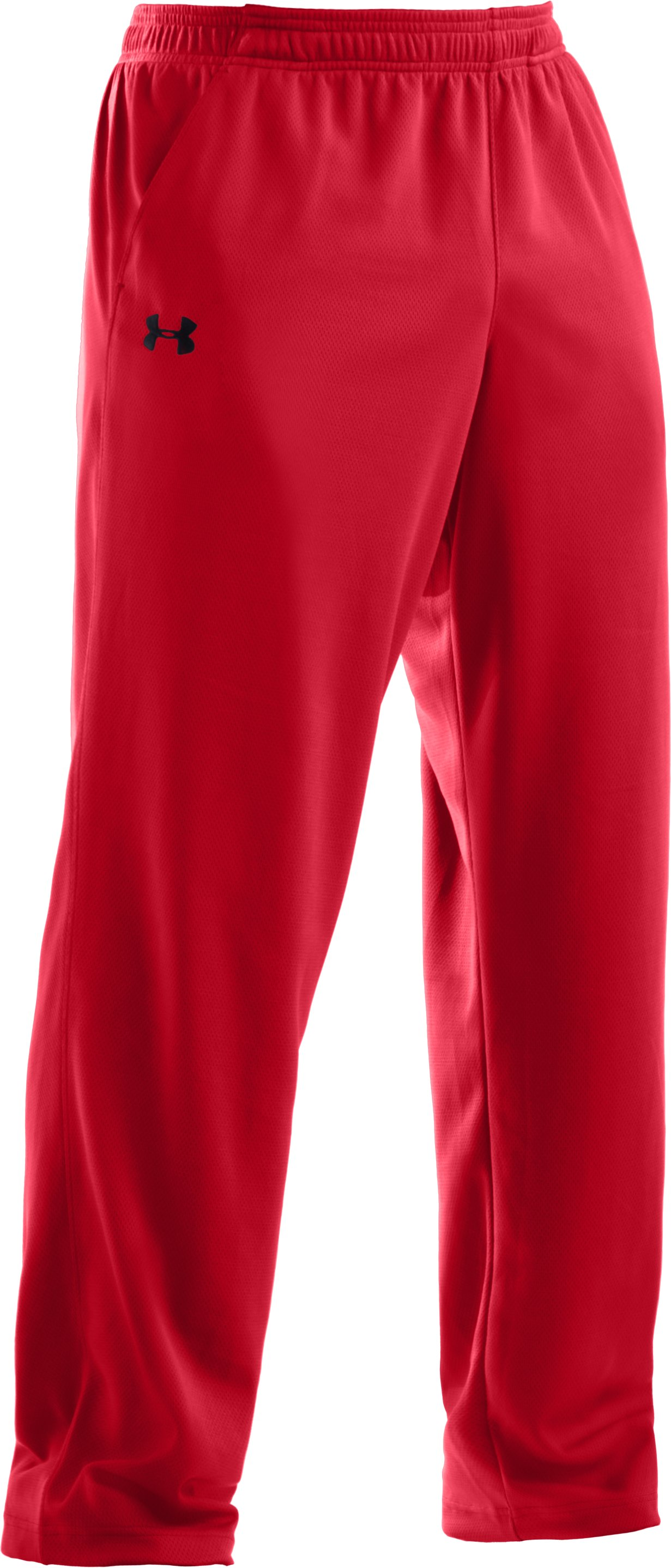 Men's UA Flex Warm-Up Pants, Red
