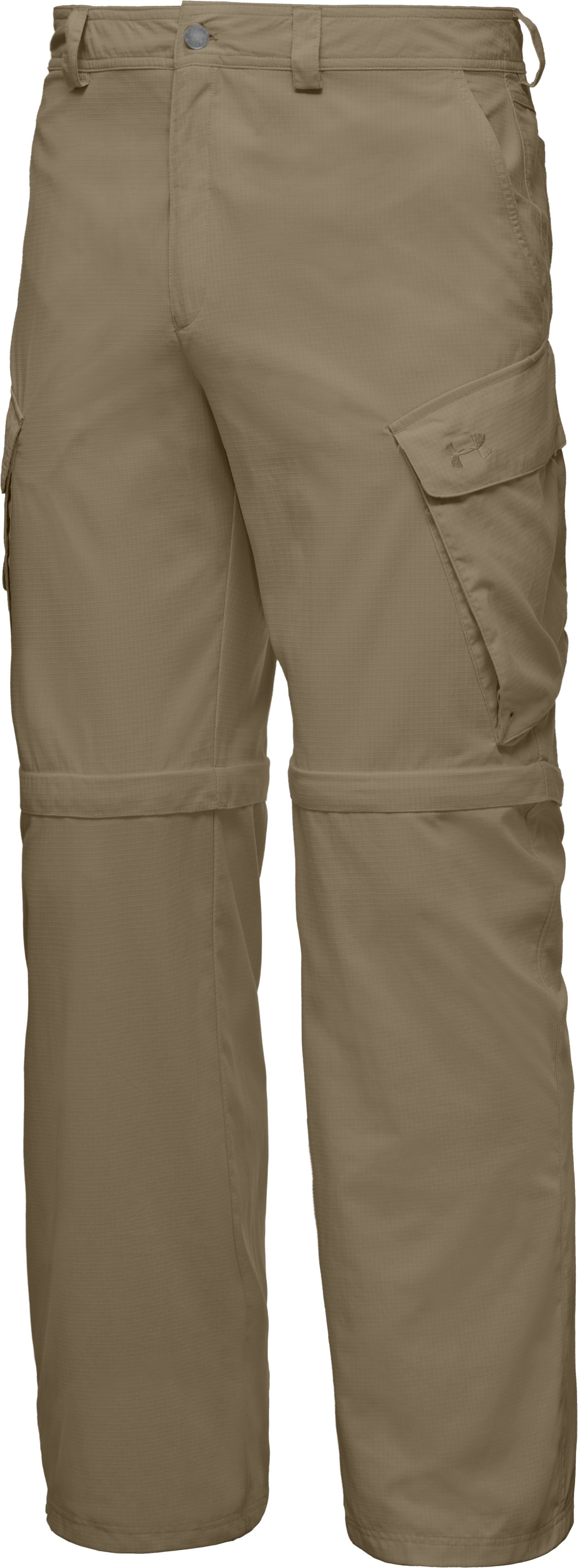 Men's UA Guide Zip-Off Trail Pants III, Bayou