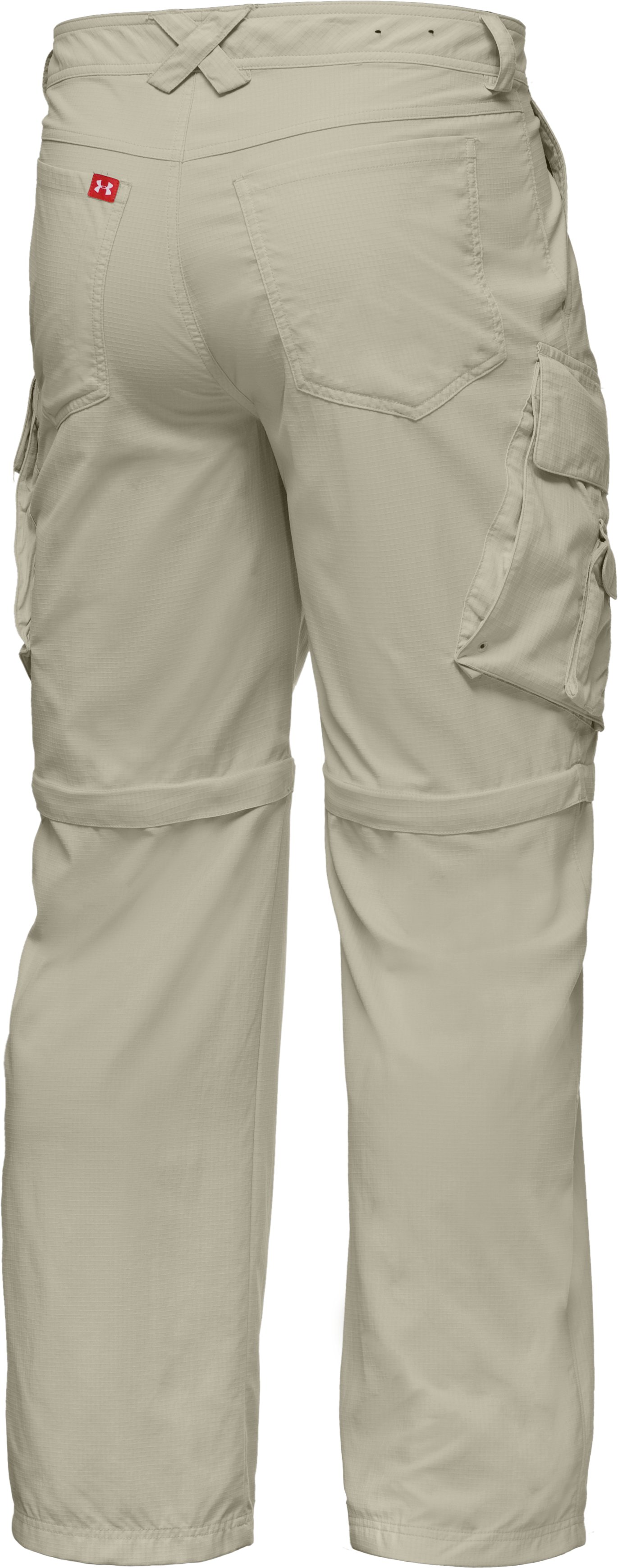 Men's UA Guide Zip-Off Trail Pants III, Desert Sand