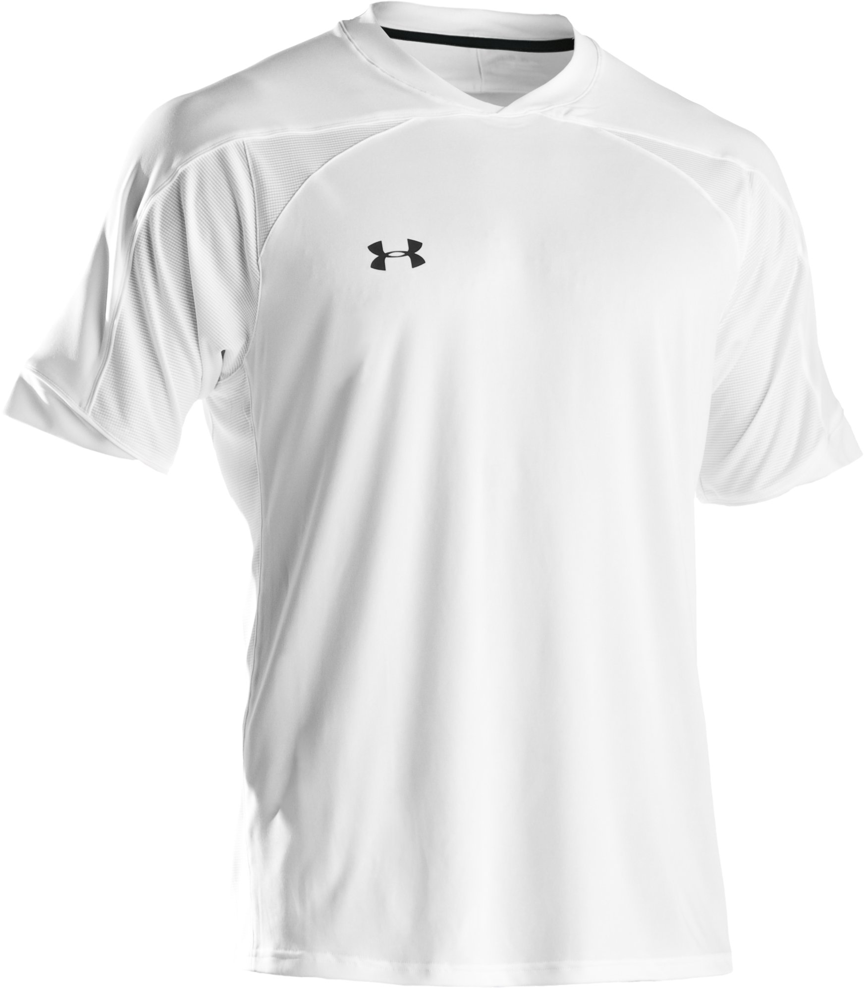 Men's UA Strike Short Sleeve Soccer Jersey, White, undefined