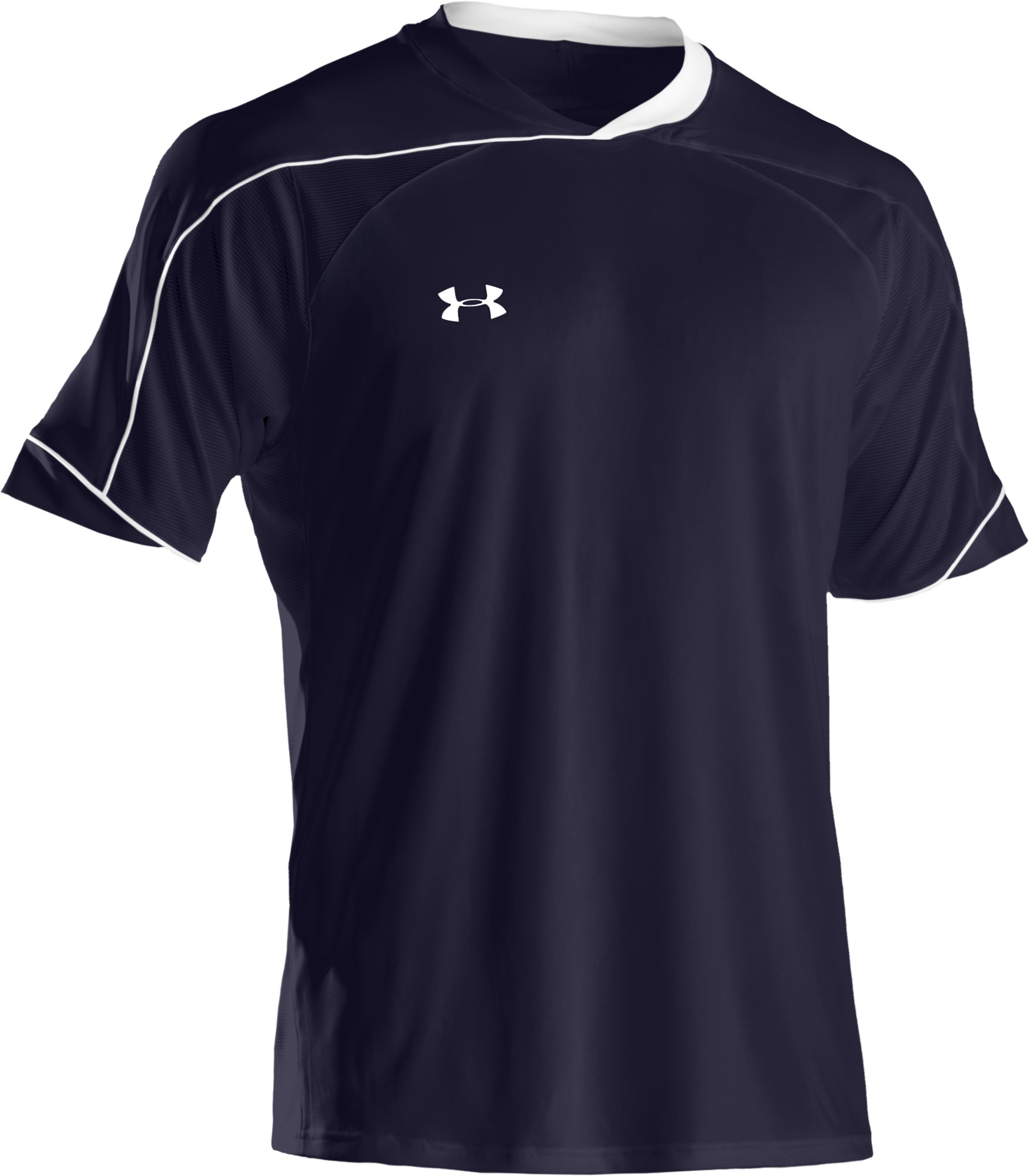 Men's UA Strike Short Sleeve Soccer Jersey, Midnight Navy