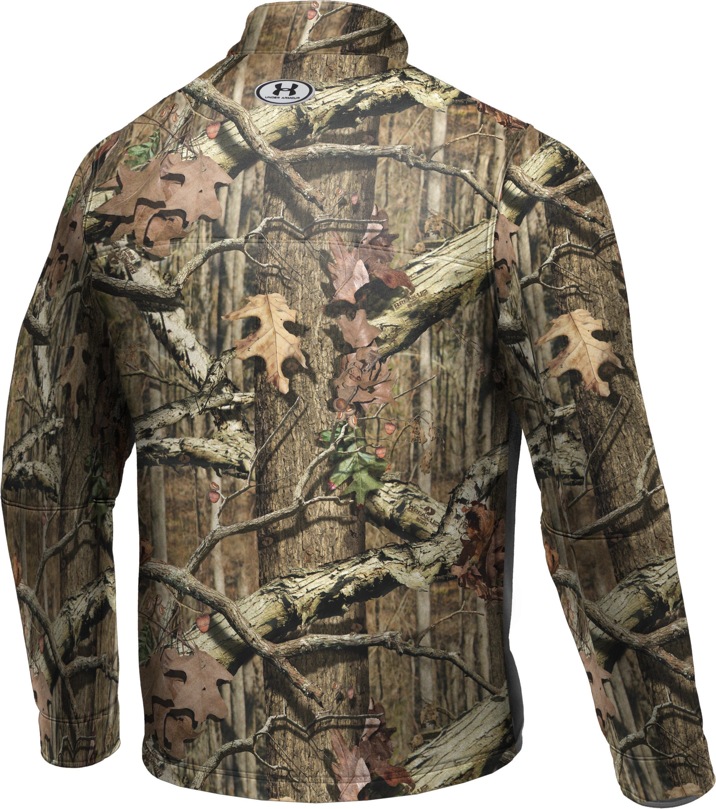 Men's UA Ayton II Fleece Camo Hunting Jacket, Mossy Oak Break-Up Infinity,