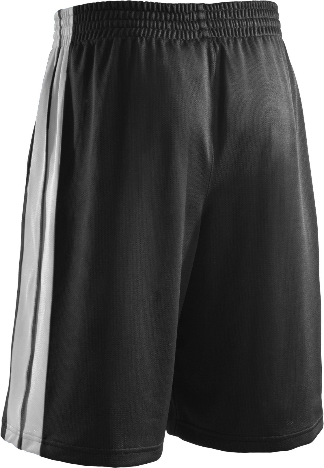 "Men's 10"" Basketball Practice Shorts, Black ,"